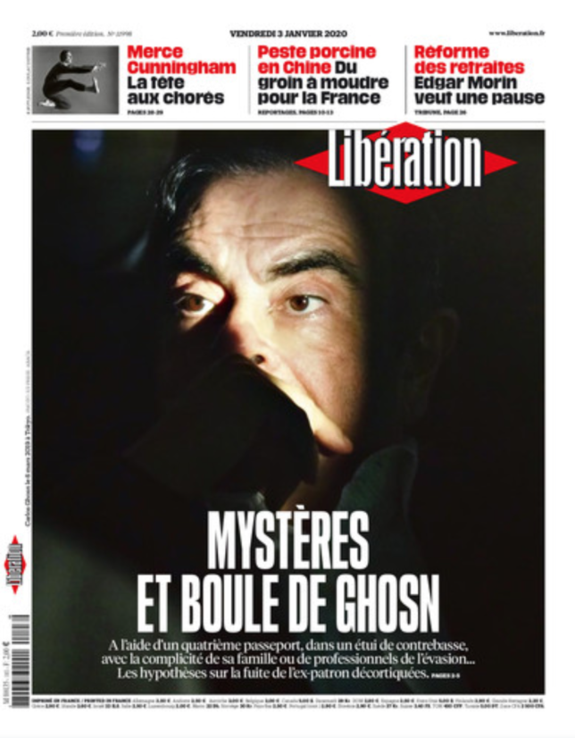 Boule de Ghosn 644x826 - La belle Une